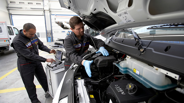 Iveco Daily Cab Service Mechanics