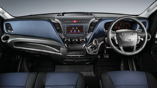 Iveco Daily Van steering and- dash