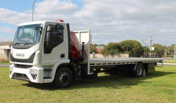2019 Iveco Eurocargo ML160 7m Tray with Ferrari Crane! Eurocargo ML160 Truck full